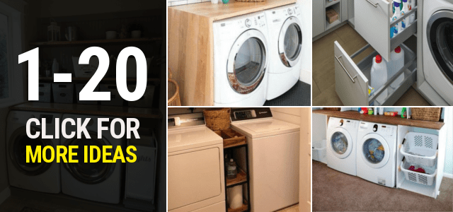 1 20 Small laundry room ideas Thumbnail 1