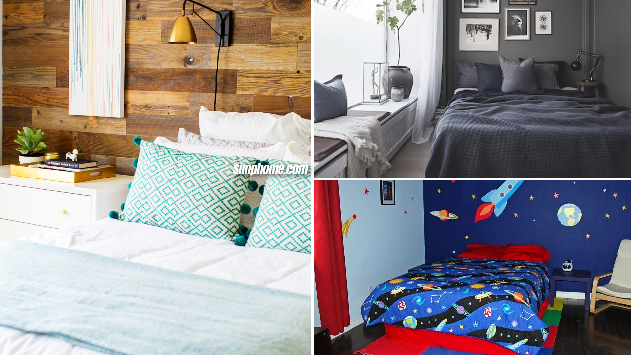 10 Clever Ideas How to Redo a Small Bedroom via Simphome featured